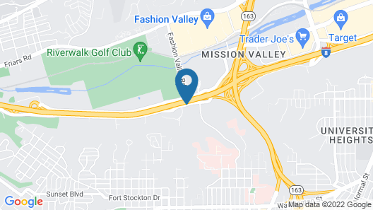 Hotel Iris - San Diego Map