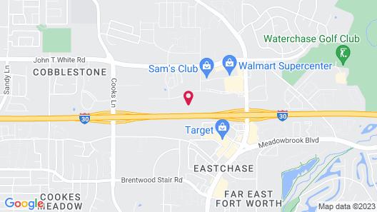La Quinta Inn & Suites by Wyndham Fort Worth Eastchase Map