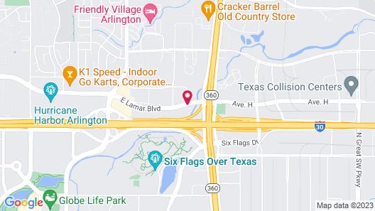Fairfield Inn & Suites by Marriott Arlington Six Flags Map