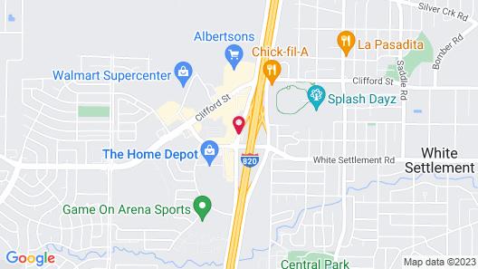 Best Western Fort Worth Inn & Suites Map