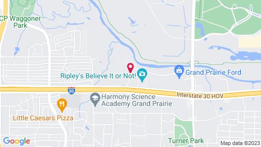 La Quinta Inn & Suites by Wyndham Dallas Grand Prairie North Map