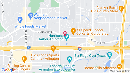 TownePlace Suites by Marriott Dallas Arlington North Map