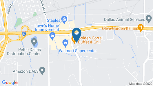 Holiday Inn Express Hotel & Suites DALLAS WEST, an IHG Hotel Map
