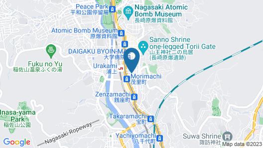 MEZAME HOSTEL Map