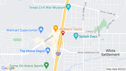 Candlewood Suites - Fort Worth/West, an IHG Hotel Map