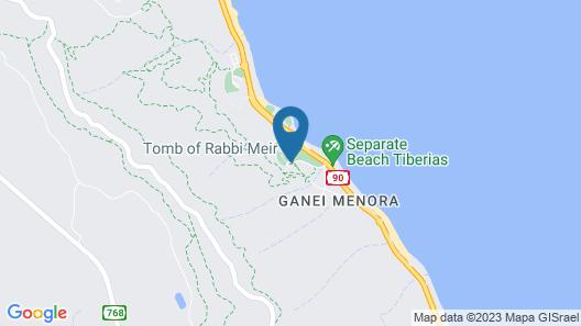 Lake House Kinneret Map