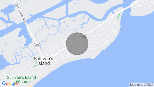 Walk to Beach. Timeless Sullivan's Island Family Home. Dog Friendly. 30 Days Minimum Rental! Map