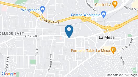 Days Inn & Suites by Wyndham San Diego SDSU Map
