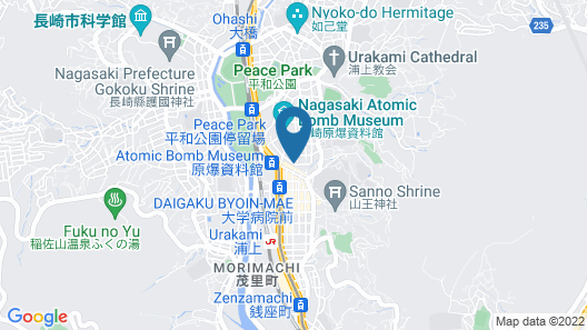 HOTEL CONCERTO NAGASAKI Map