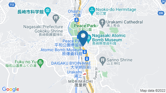 Nagasaki City Hotel Annex 3 Map