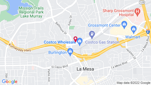Holiday Inn La Mesa, an IHG Hotel Map
