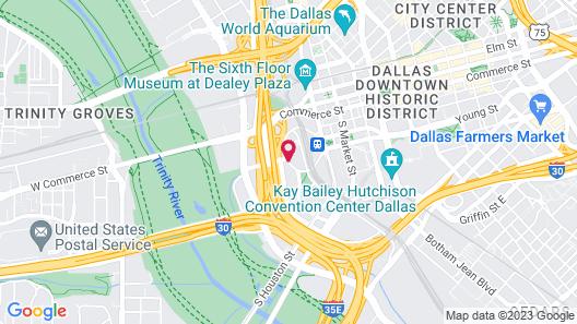 Hyatt Regency Dallas Map