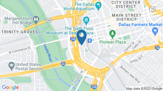Hyatt Regency Dallas Map
