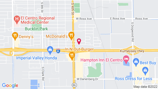 Holiday Inn Express Hotel & Suites El Centro, an IHG Hotel Map