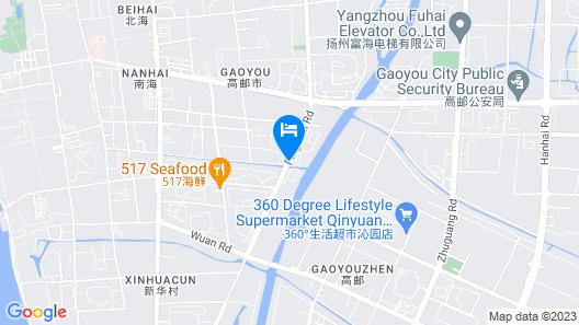 GreenTree Inn Yangzhou Gaoyou Municipal Government Business Hotel Map