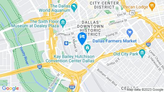 Omni Dallas Hotel Map