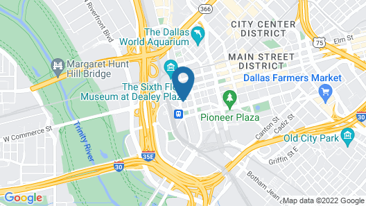 La Quinta Inn & Suites by Wyndham Dallas Downtown Map