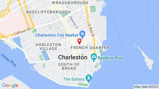 Days Inn by Wyndham Charleston Historic District Map