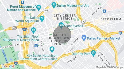 City Views Penthouse Map