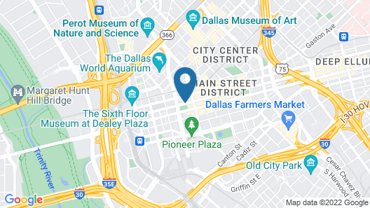 The Westin Dallas Downtown Map