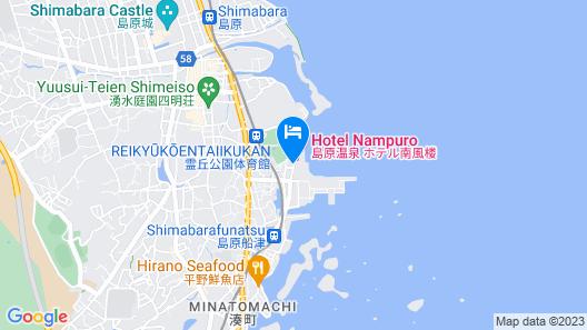 Hotel Nampuro Map