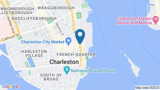 Market Pavilion Hotel Map