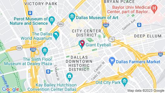 The Guild Downtown l Elm St Map