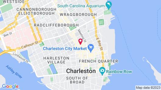 Renaissance Charleston Historic District Hotel Map