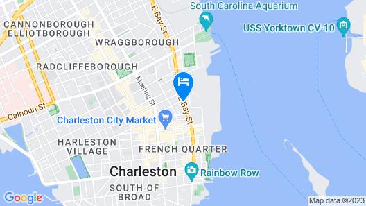 Ansonborough Inn Map