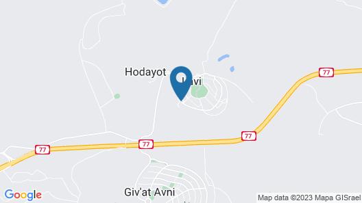 Kibbutz Lavi Hotel Map