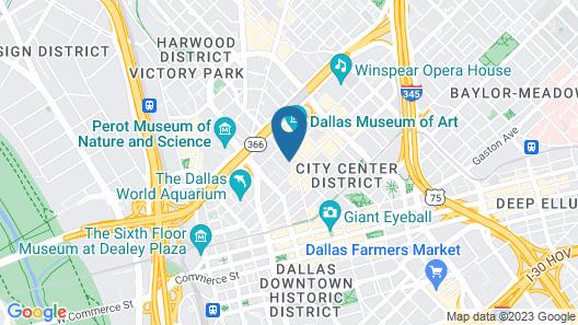 Fairmont Dallas Map