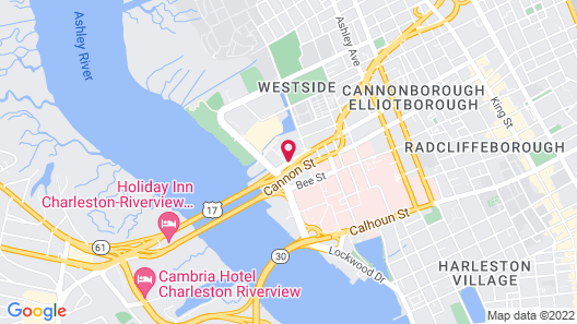 Holiday Inn Express Charleston Dwtn - Medical Area, an IHG Hotel Map