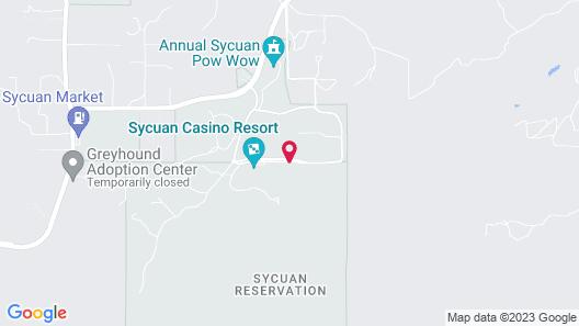 Sycuan Casino Resort Map