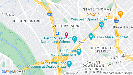 W Dallas - Victory Map