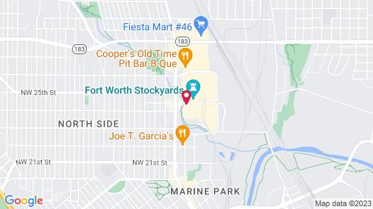 Hyatt Place Fort Worth/Historic Stockyards Map