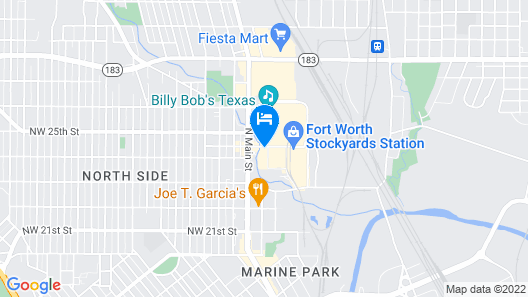 Hyatt Place Fort Worth/Historic Stockyards Map