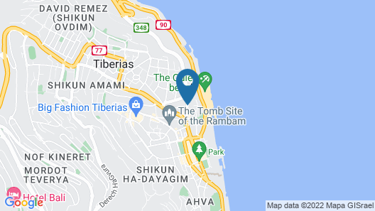 Sofia Hotel Sea of Galilee Map