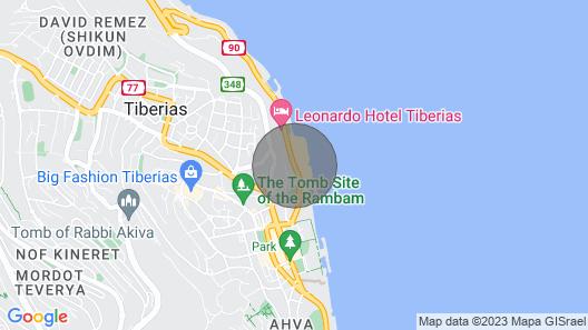 Kineretbagalil-  You Want This Holiday Apartments Map
