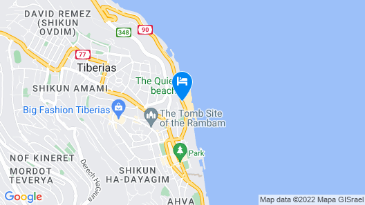 Kineret Bagalil Map
