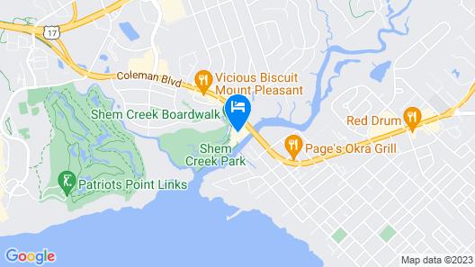 Shem Creek Inn Map