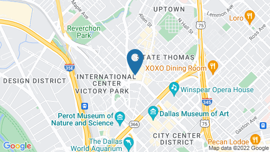 Hotel Crescent Court Map