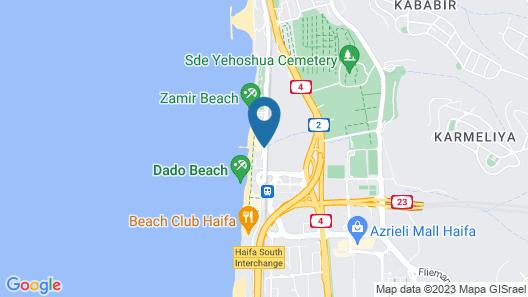 Leonardo Plaza Haifa Map