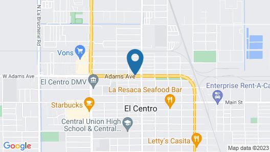 Classic Inn & Suites Map