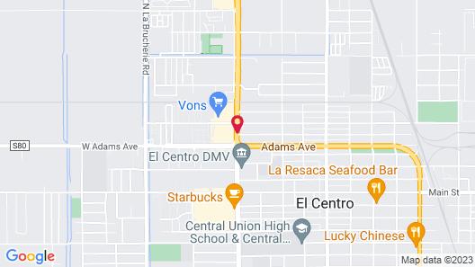 Days Inn by Wyndham El Centro Map