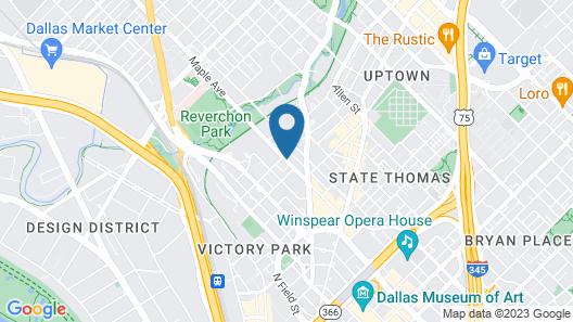 Le Méridien Dallas, The Stoneleigh Map