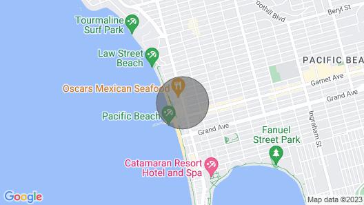 WanderJaunt | Emerald St Townhomes Map