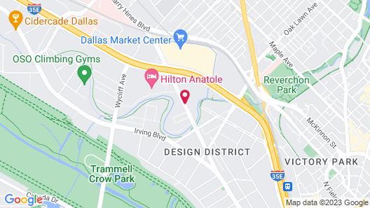 Days Inn by Wyndham Market Center Dallas Love Field Map