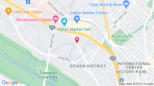 Fairfield Inn & Suites Dallas Medical/Market Center Map