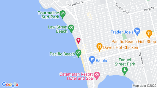 Diamond Head Inn Map