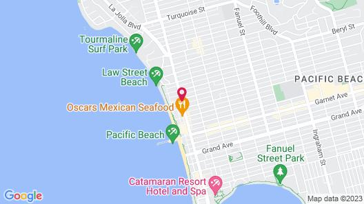 Beach Haven Map